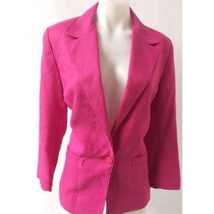 Pink Blazer Size 8